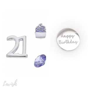 21st Birthday Charm Pack