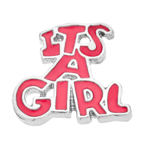 its a girl charm