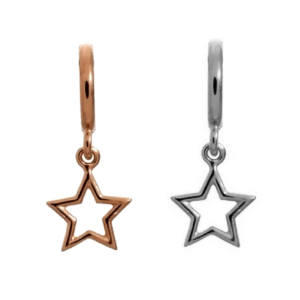 star dangle bead