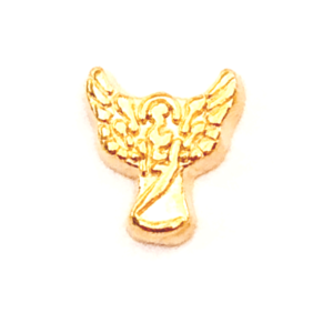Gold Angel Floating charm