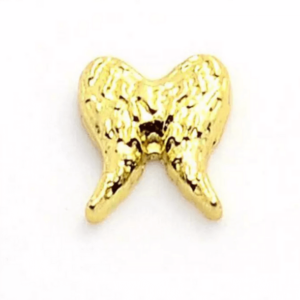 Gold Angel wings Floating charm