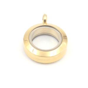 Mini Gold Lavish Locket plain