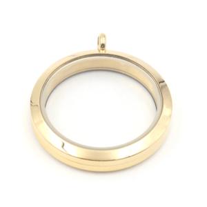 large gold lavish locket