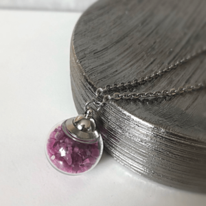 Locket 360 with Natural Gemstones