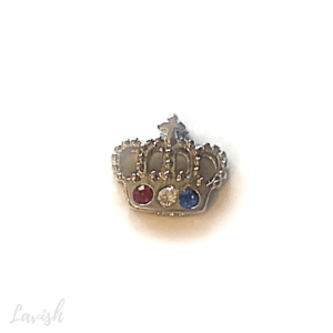 Crown Floating charm