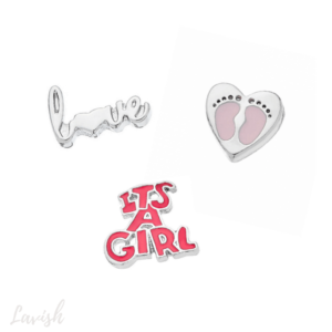 Baby Girl Charm Pack