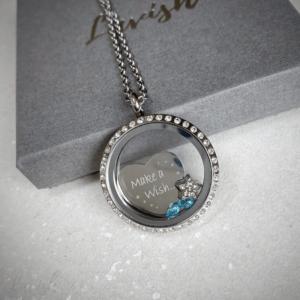 Make A Wish Engraved Locket